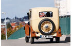 Morris Minor Saloon, Heck