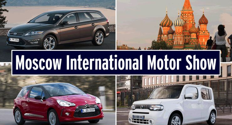 Moskau Autosalon Motor Show