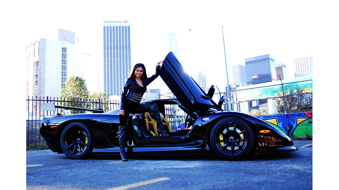 Mosler Raptor GTR, Abby Cubey