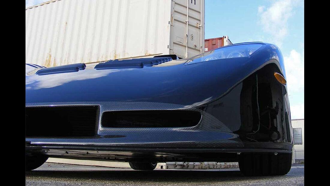 Mosler Raptor GTR, Frontspoiler