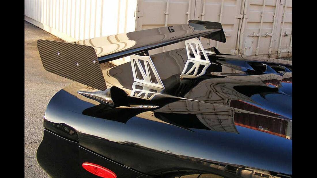 Mosler Raptor GTR, Heckspoiler
