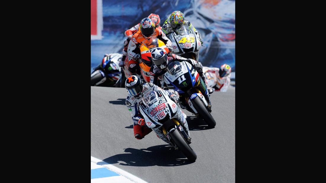 Moto GP Laguna Seca 2010, Corkescrew