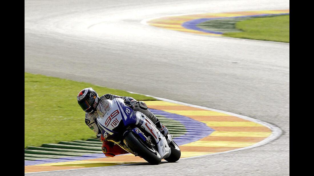 Moto GP Valencia 2010, Jorge Lorenzo, Yamaha
