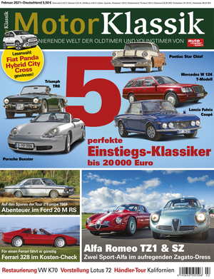 Motor Klassik 02/2021 Titel Heftvorschau