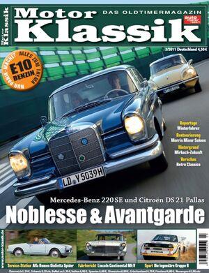Motor Klassik 03/2011 - Hefttitel