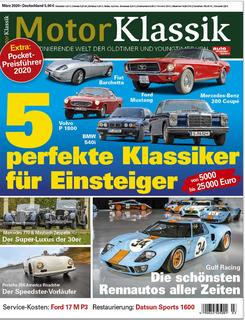 Motor Klassik 03/2020 Titel