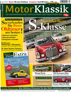 Motor Klassik 04/2013