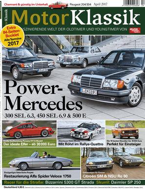Motor Klassik 04/2017 Titel