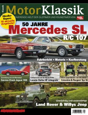Motor Klassik 04/2021 Titel Heftvorschau