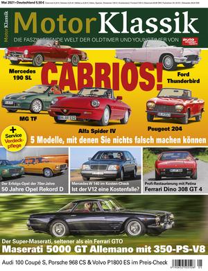 Motor Klassik 05/2021