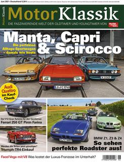 Motor Klassik 06/2021 Titel