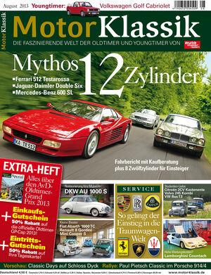 Motor Klassik 08/2013