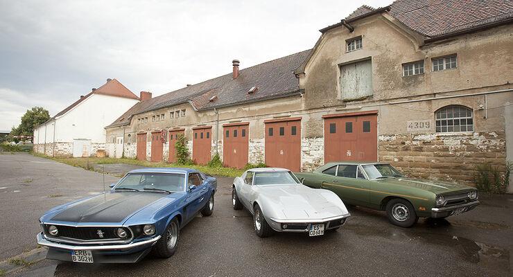 Motor Klassik 09/2011, Heftvorschau, US-Cars