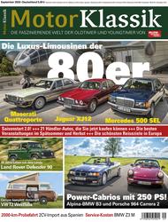 Motor Klassik 09/2020 Titel