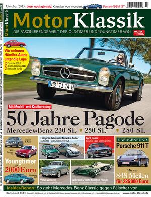 Motor Klassik 10/2013