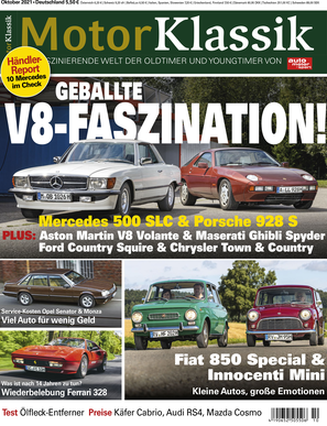 Motor Klassik 10/2021 Titel