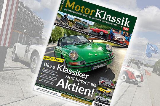 Motor Klassik 11/2011, Heftvorschau, mokla1111