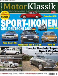 Motor Klassik 11/2021 Titel