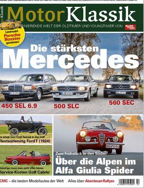 Motor Klassik 2/2020 Titel