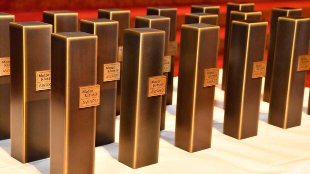 Motor Klassik Award Trophäen