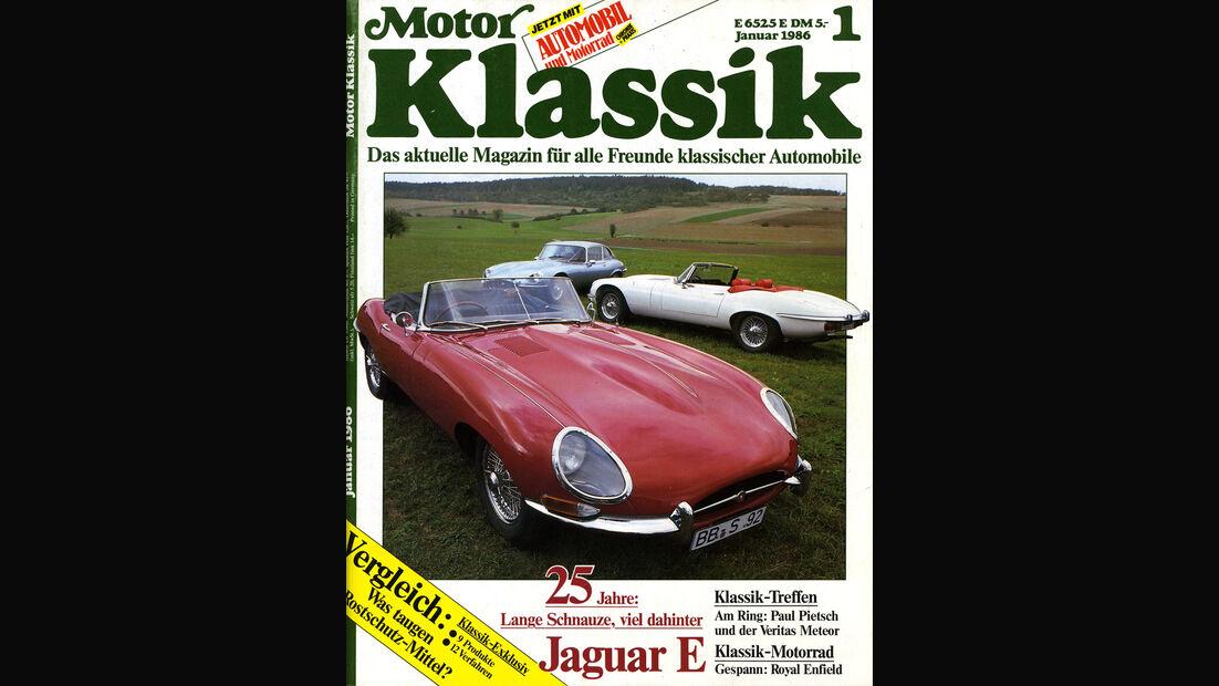Motor Klassik, Heft 01/1986