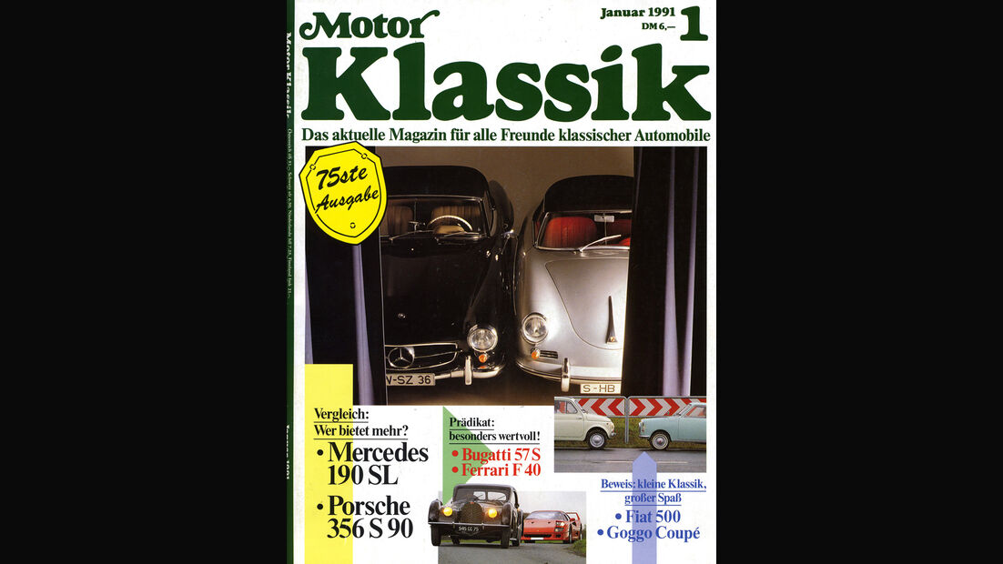 Motor Klassik, Heft 01/1991