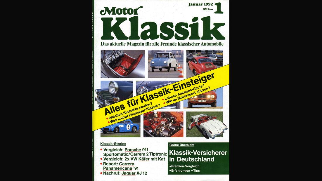 Motor Klassik, Heft 01/1992