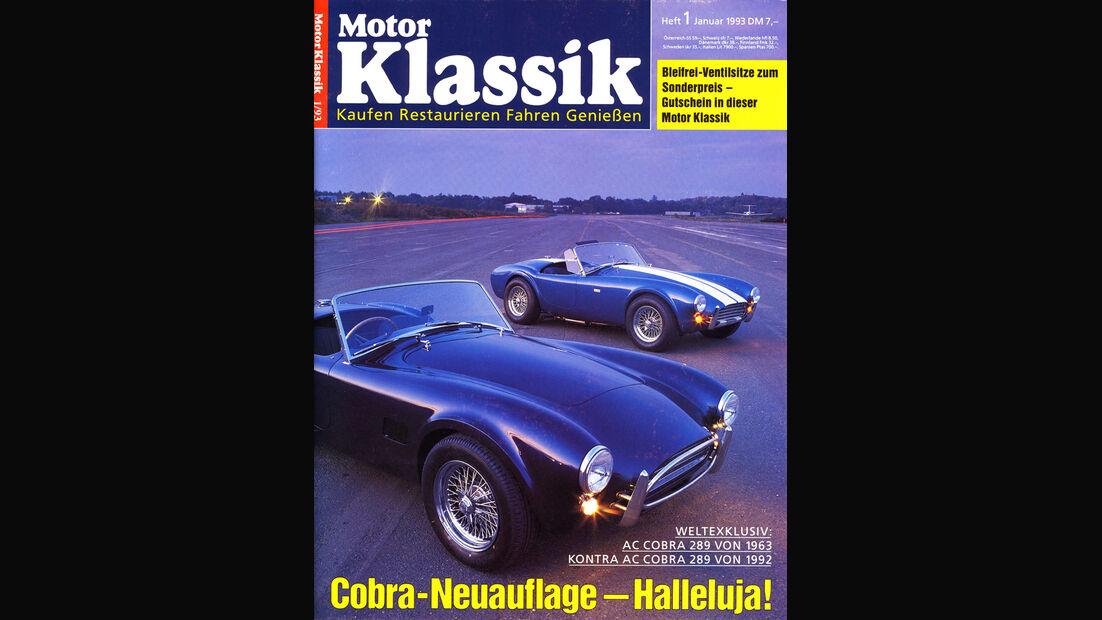 Motor Klassik, Heft 01/1993