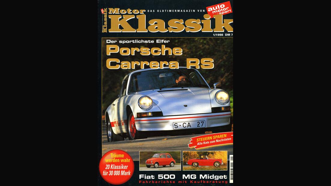 Motor Klassik, Heft 01/1998