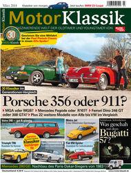 Motor Klassik, Heft 03/2014