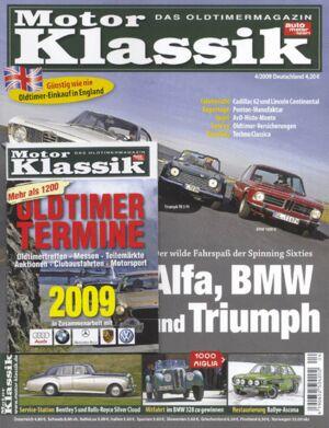 Motor Klassik, Heft 04/2009