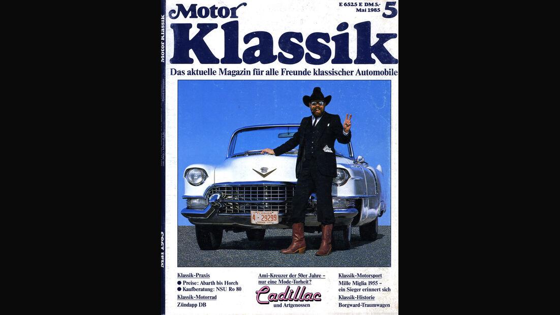 Motor Klassik, Heft 05/1985