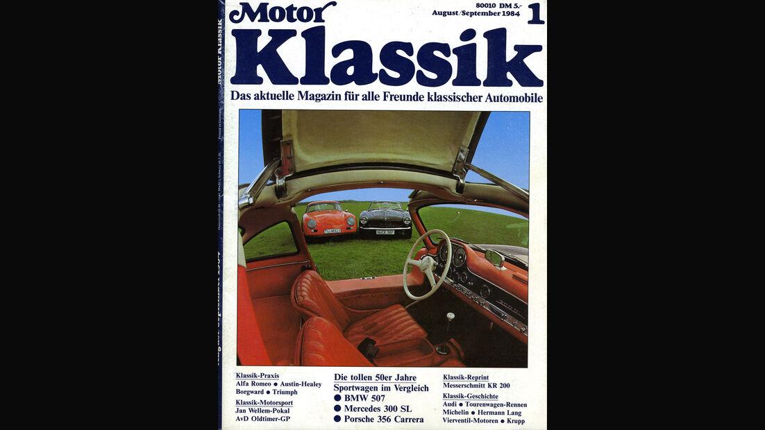 Motor Klassik, Heft 08/1984