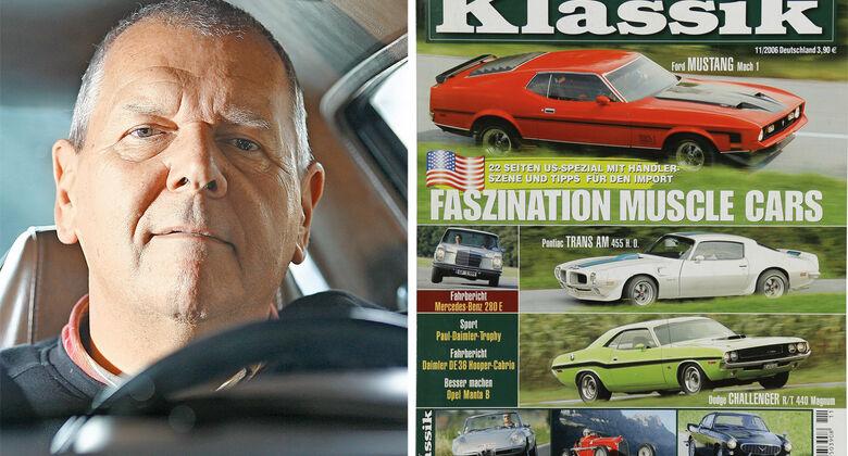 Motor Klassik Heft 11/2006, Muscle-Cars