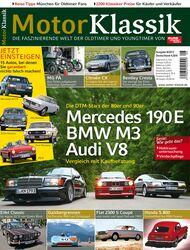 Motor Klassik - Hefttitel, Titel  08/2012