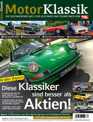 Motor Klassik - Hefttitel, Titel 11/2011