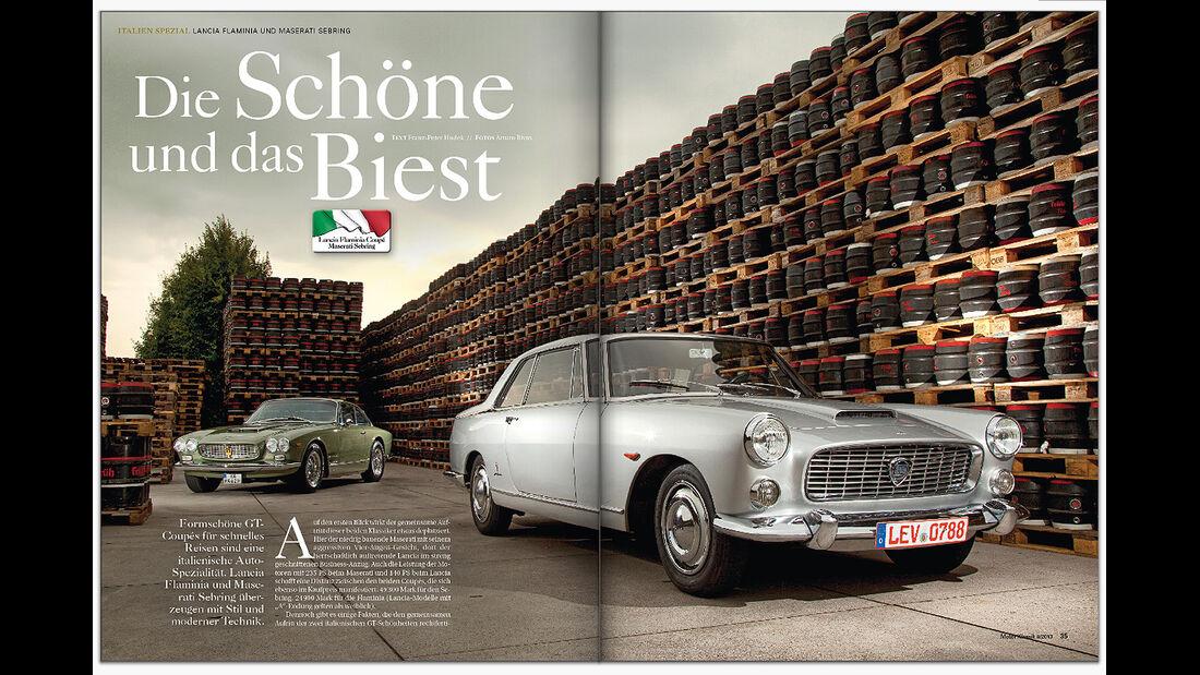 Motor Klassik, Heftvorschau, 0913