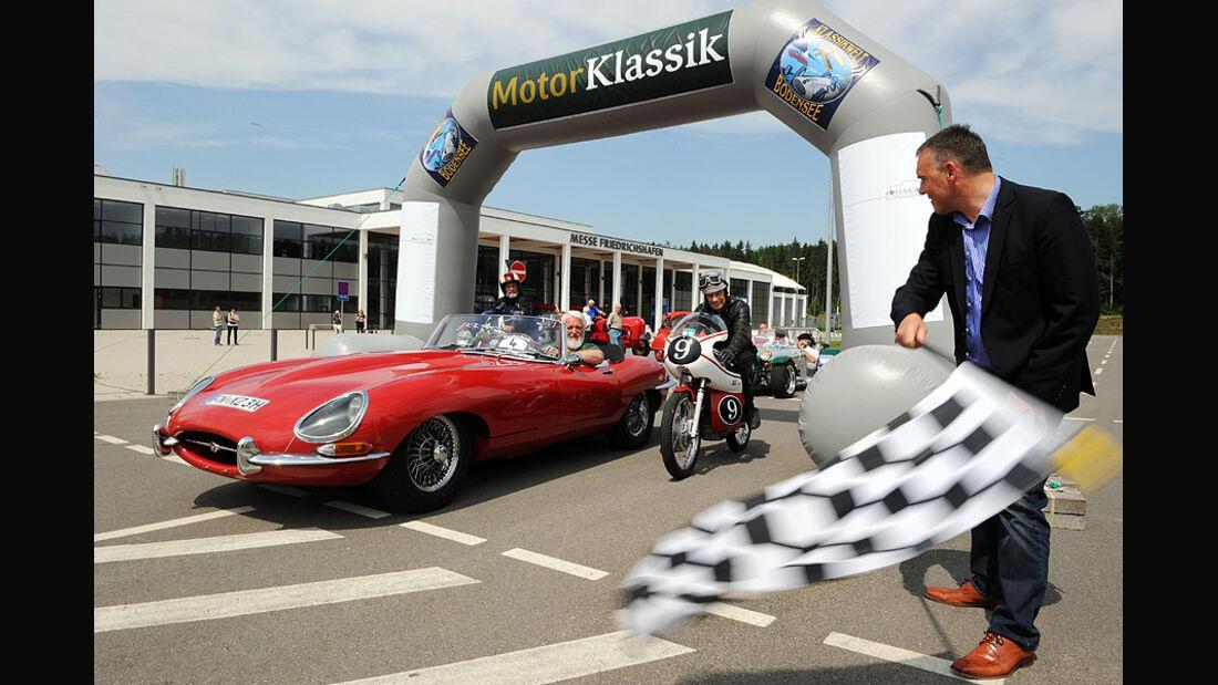 Motor Klassik Klassiker-Parade bei der Klassikwelt Bodensee