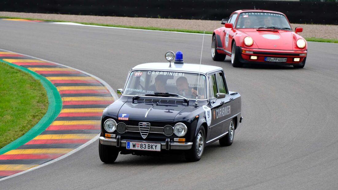 Motor Klassik Oldtimer-Fahrtraining Sachsenring