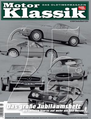 Motor Klassik Titel 08/2009
