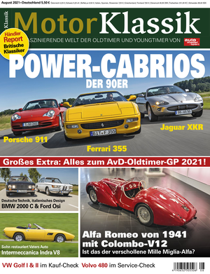 Motor Klassik Titel 08/2021