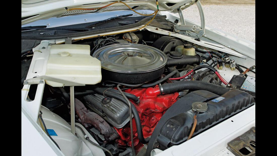 Motor, Opel Diplomat B V8, Baujahr 1977
