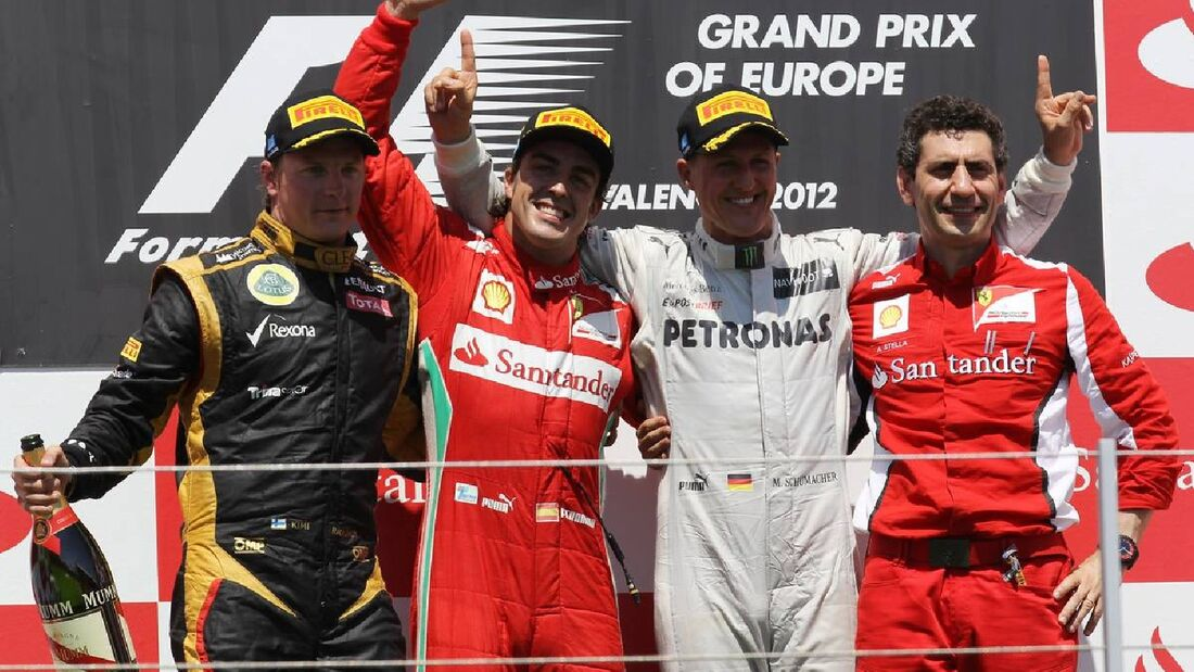 Motor Racing - Formula One World Championship - European Grand Prix - Race Day - Valencia, Spain