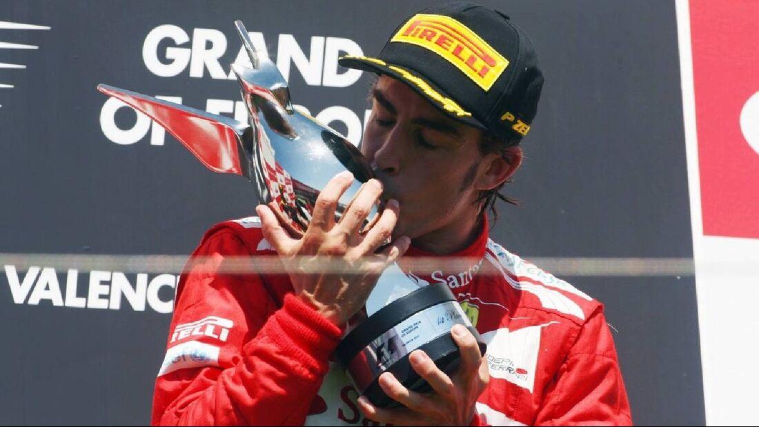 Motor Racing - Formula One World Championship - European Grand Prix - Race Day - Valencia, Spain