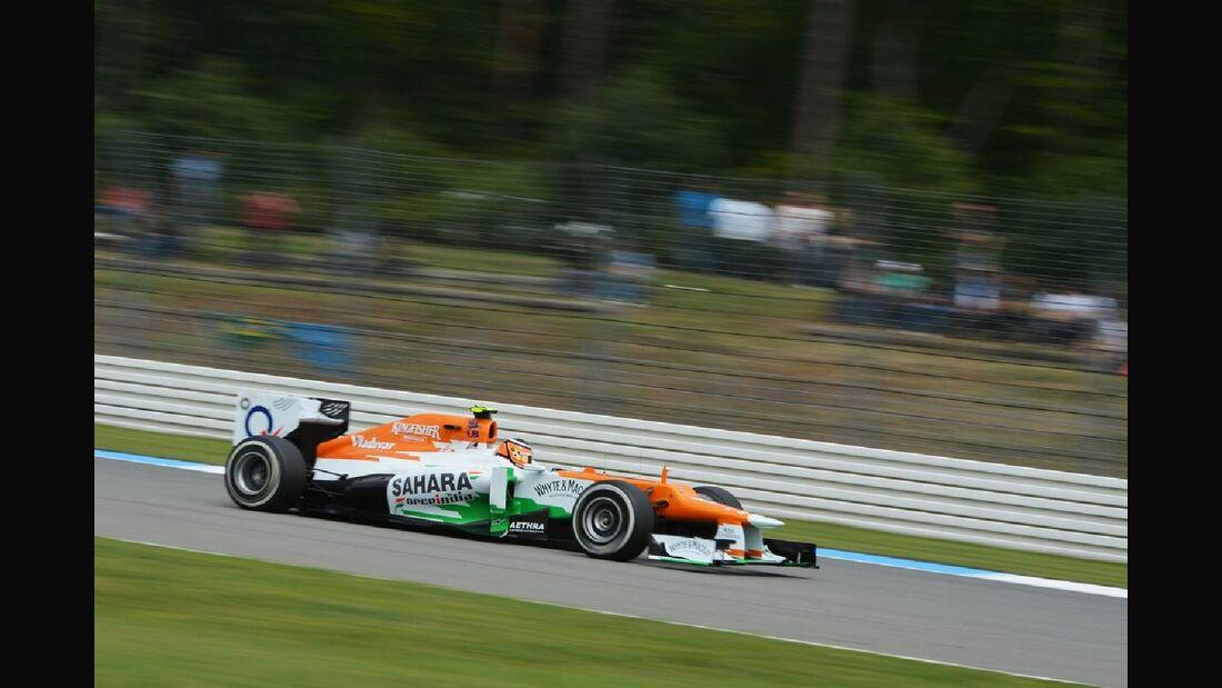 Motor Racing - Formula One World Championship - German Grand Prix - Qualifying Day - Hockenheim, Germany