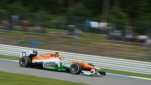 Motor Racing - Formula One World Championship - German Grand Prix - Qualifying Day - Hockenheim, Germany