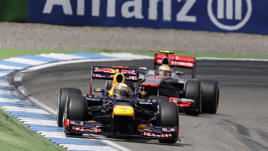 Motor Racing - Formula One World Championship - German Grand Prix - Race Day - Hockenheim, Germany