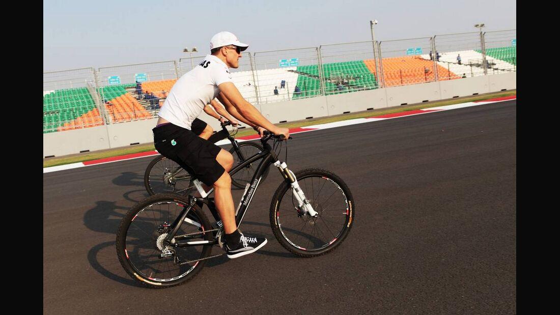 Motor Racing - Formula One World Championship - Indian Grand Prix - Preparation Day - New Delhi, India