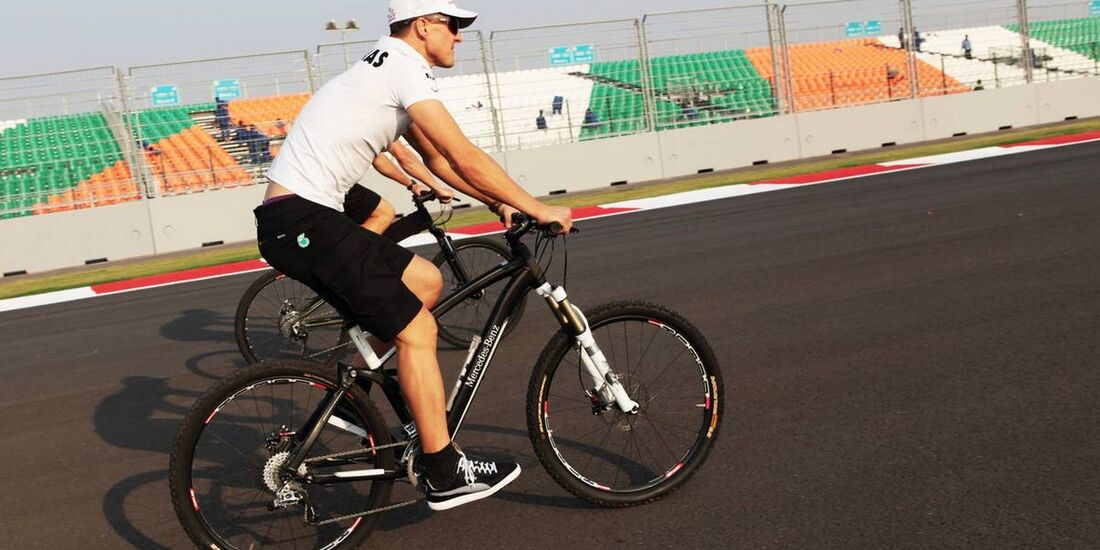 Motor Racing - Formula One World Championship - Indian Grand Prix - Preparation Day - New Delhi, India