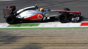 Motor Racing - Formula One World Championship - Italian Grand Prix - Qualifying Day - Monza, Italy